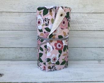 Unpaper towels, reusable paper towels, cloth paper towels, snapping paper towels - MAGNOLIA // Gift //Eco Friendly //