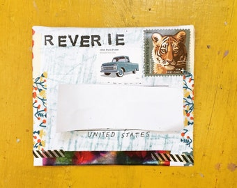 Reverie Vol. 1, small art zine by Blah Blah Blah Press