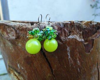 Bright, Beautiful, Bobble Earrings