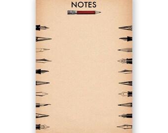 Pencils Notepad - Humor - Gift - Stocking Stuffer