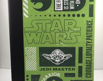 Star Wars Yoda Composition Book