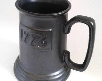 Vintage Wilton Pewter 1776 Tankard Mug