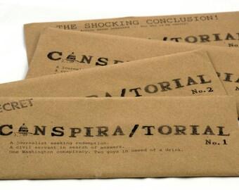 Conspiratorial -- a follow-along mystery set in Washington, D.C.
