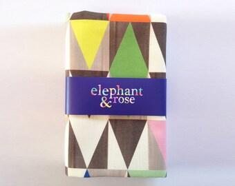 Tea Towel Jewel Geometric Design Printed Linen Cotton