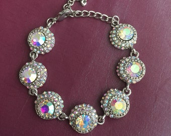 Prism Rhinestone Bracelet
