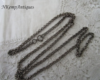 Old chain necklace