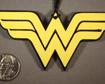 Wonder Woman Symbol Ornament