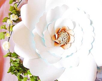 Printable Giant Flower Templates DIY Large Paper Flowers DIY