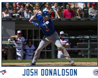 Josh Donaldson Toronto Blue Jays Canvas Wrap