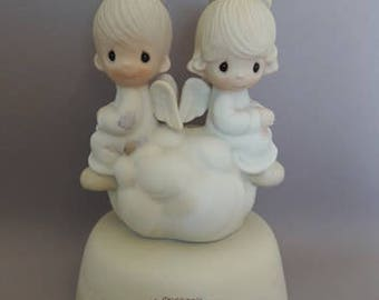 Precious Moments 1979, Enesco, But  love goes on forever, Collector's Club