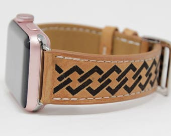 Apple Watch Band 38mm, Series 3, Apple Watch Bands for Women, Apple Watch Band 42mm, iWatch Band, Apple Watch Leather, Apple Watch Strap