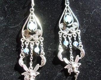 Moonstones & Fairies Earrings