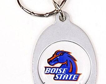 Boise State Broncos Keychain & Keyring - Oval