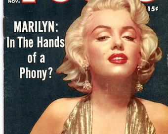 Magazine   Focus   1955  Marilyn Monroe Cover + 3 images   Sophia Loren 6 Great Photos  Elsa Martinelli  Rita Moreno  Scandals more