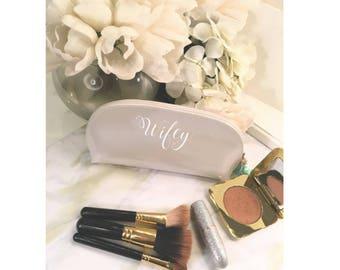 Wifey Cosmetic Bag