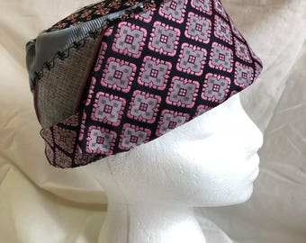 Up-cycled Men's Tie Hat