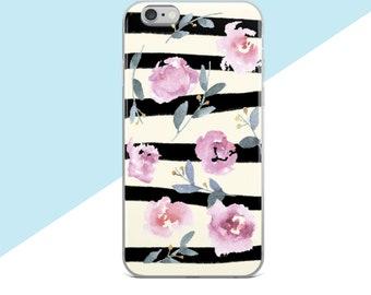 Samsung Galaxy S8 Plus Case, Flower Phone Case, Samsung Galaxy S8 Case, iphone 7 Plus Case Floral, Samsung Galaxy S7 Case, iphone 7 Case