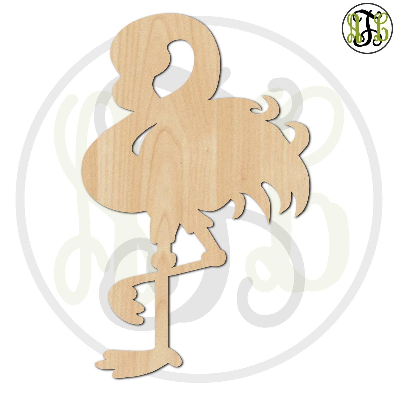 Flamingo 230043 Bird Cutout Unfinished Wood Cutout