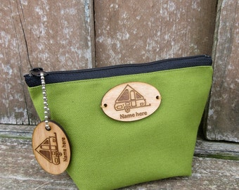 A-Frame Personalized Cotton Bag, A-Frame Camper, A-Frame Travel Trailer, A-Frame Pop Up, Camping Gear Bag, A-Frame Glamper, A-Frame Glamping