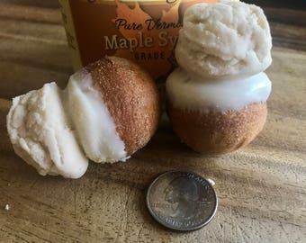 Real Vermont Maple Cream Mini Donut Holes