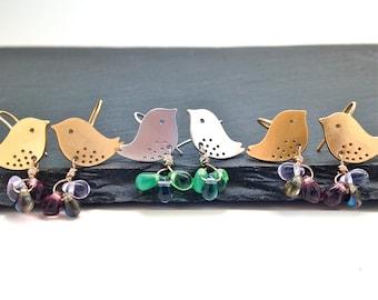 Love Bird Earrings Silver Earrings Teen Earrings Dangle Earrings Tween Gift Best Seller Graduation Gift Bat Mitzvah Gift Jewelry For Girl