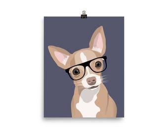 Custom Pet Portrait Poster