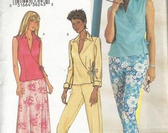 Butterick 3774 Pants, Skirt, Top Pattern Sz 6-10