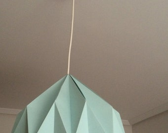 Origami lamp (lámpara de origami)