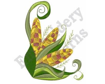Harvest Corn - Machine Embroidery Design