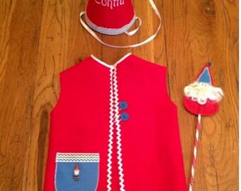 Boy Gnome Costume Set