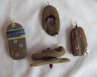 Variety of Driftwood Pendants for Necklaces, necklace, pendants, driftwood