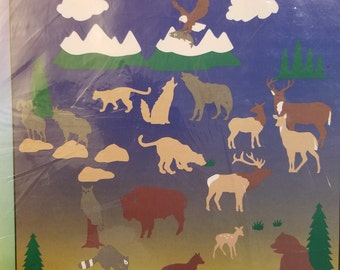 Stik-ees 1994 719 Wilderness Wonders decal, Great for Kids