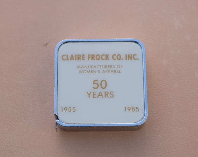 Barlow Tape measure from the Claire Frock Co Inc