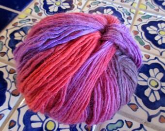 DESTASH Crystal Palace Yarns Mochi Plus Fandango (# 609) 100% Wool Yarn aran worsted weight yarn wool yarn