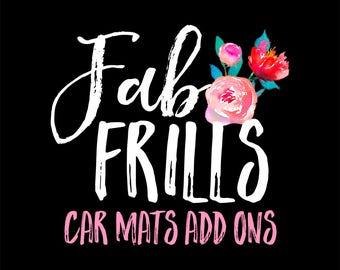 Car Mats Add Ons