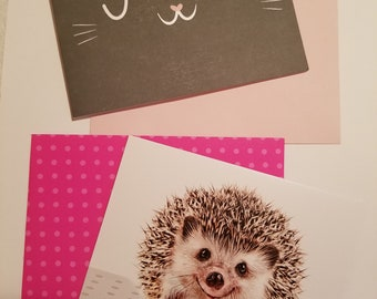 Set of 2 blank cards