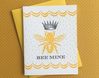Bee Mine Queen Bee