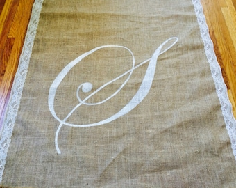NEW: Monogram ONLY (does not include aisle runner)