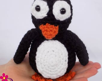Baby Penguin Stuffed Animal  Penguin Toy  Plush Penguin  Gift for Baby  Baby Gift  Baby Shower Gift  Baby Penguin Snuggly Pal
