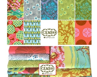 Amy Butler Fabric Cameo -  Tall Stories Fat quarter bundle of 9