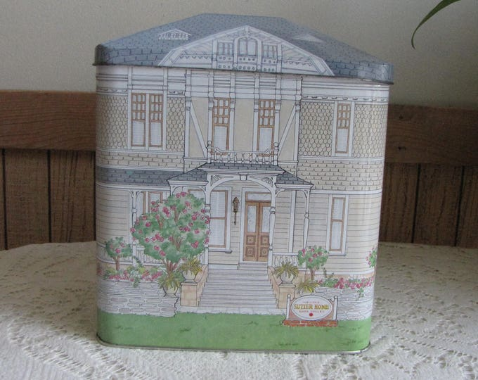Sutter Home Tin Vintage Containers and Tins Sutter Home Wines Napa Valley Vintage Boxes and Tins