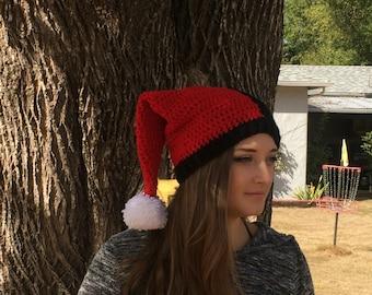 Harley Quinn Crochet Hat