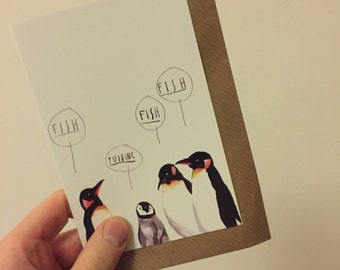 There's Always One Greetings Card