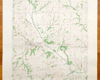 Table rock map Etsy
