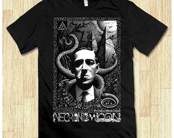 Hovard Lovecraft Necronomicon Men's Women's T-shirt