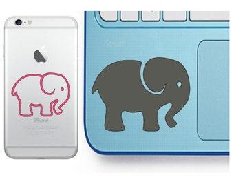 Elephant Decal - Glitter Elephant - Elephant Sticker - Laptop Decal - Cell Phone Decal - Laptop Sticker - Car Decal - Tumbler Decal