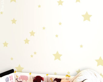 Mix Stars Wall Sticker Decal Home, Stars Wall Decal Christmas Wall Art Kids Room