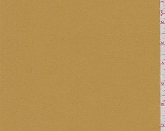 Butterscotch Orange Tricotene Suiting, Fabric By The Yard