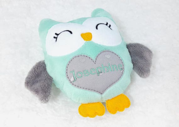 Owl plushie personalized toddler gifts personalized baby owl plushie personalized toddler gifts personalized baby gift sensory toy gift for newborn toddler toys gift for toddler boy or girl negle Choice Image