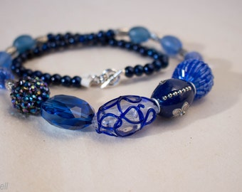 Deep Blue Waters Necklace